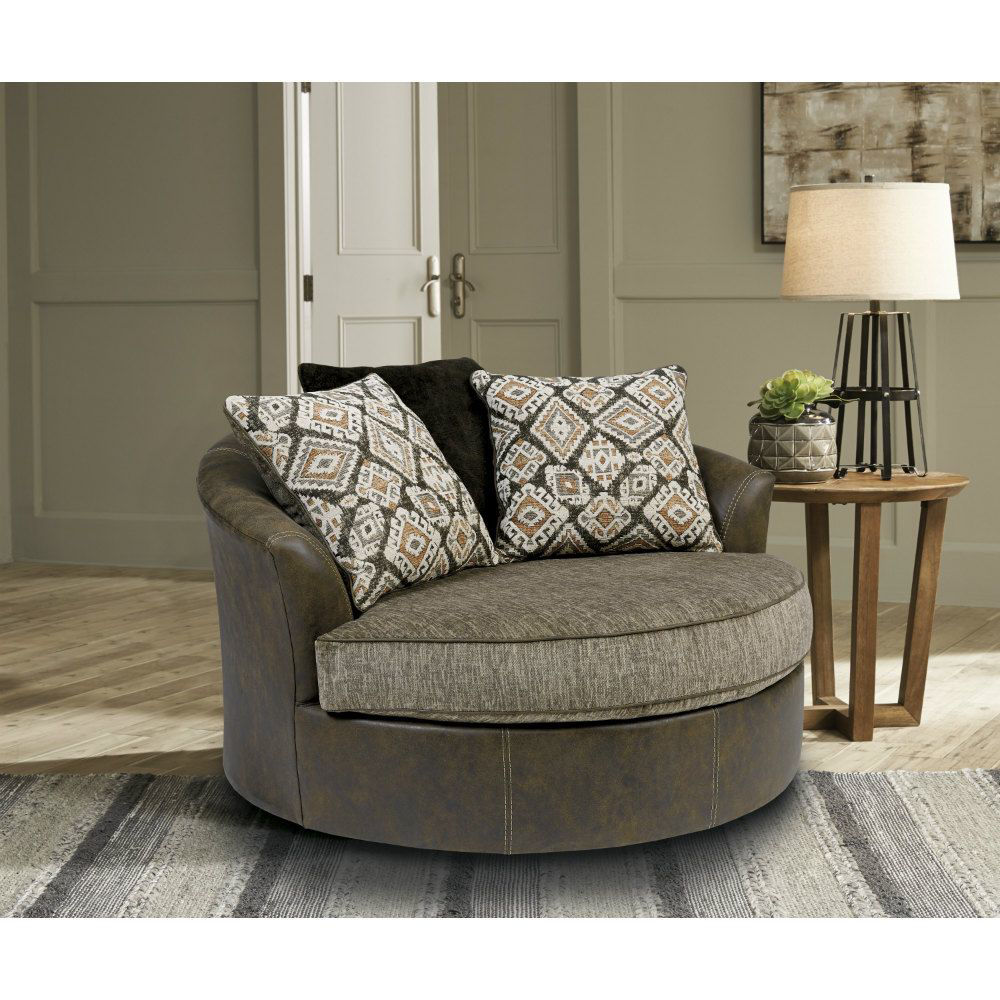 Arlo Swivel Chair - Lifestyle