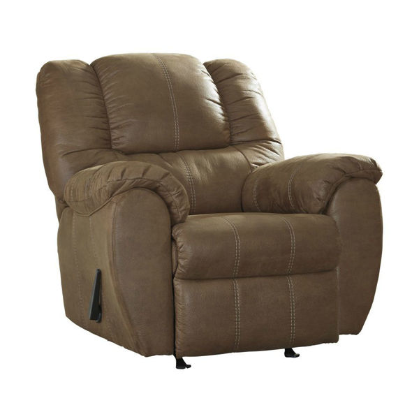 Mike Rocker Recliner - Saddle