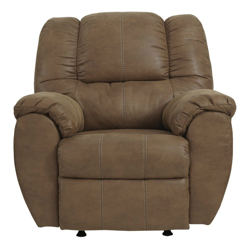 Mike Rocker Recliner - Saddle - Front