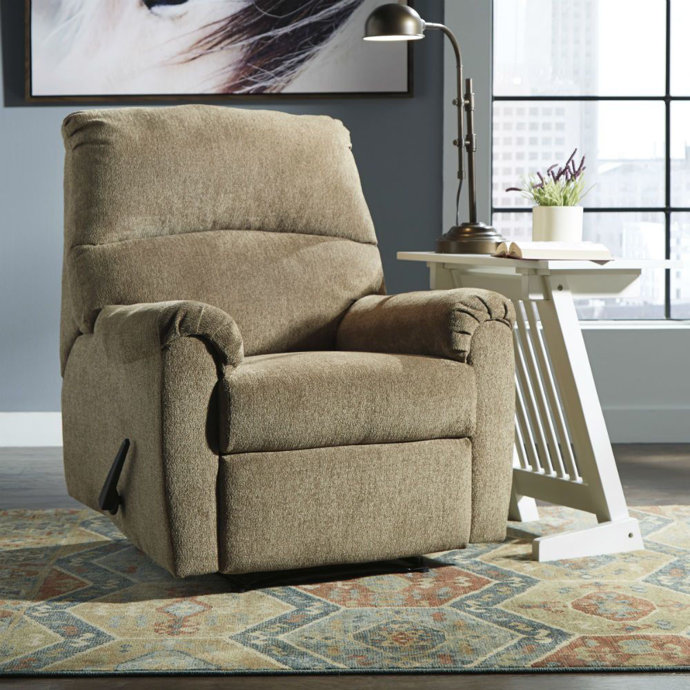 Neil Wall Recliner - Mocha - Lifestyle