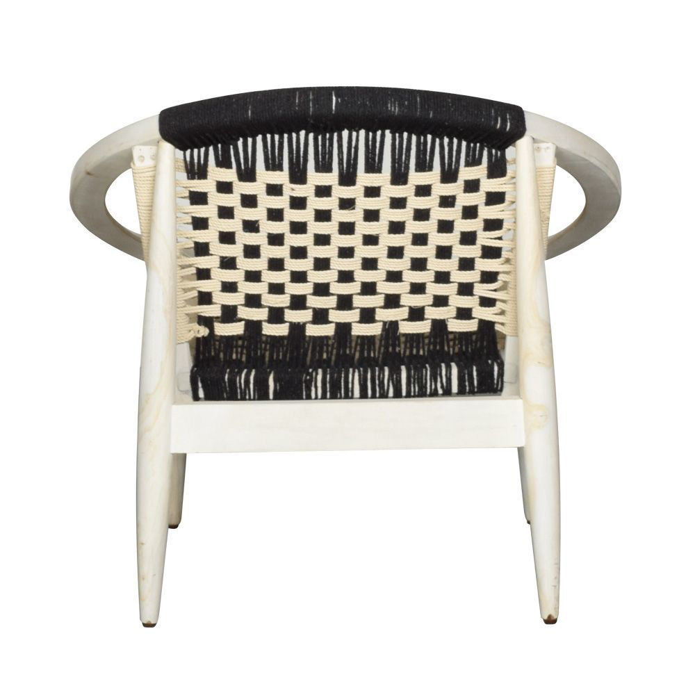 Fiona Woven Accent Chair - Back