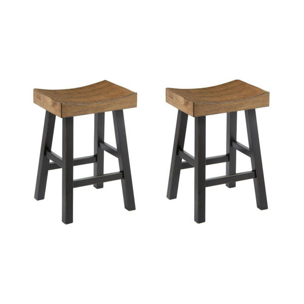 "Glauco 24"" Stool - Set of 2"