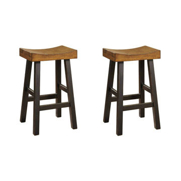 "Glauco 30"" Stool - Set of 2"