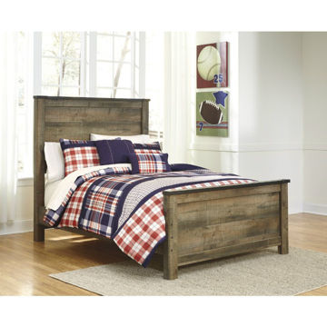Peoria Panel Bed - Full