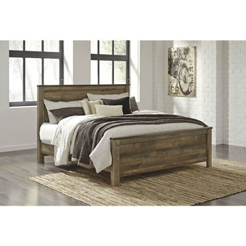 Peoria Panel Bed - King