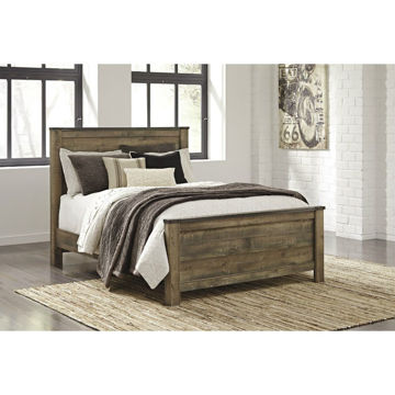 Peoria Panel Bed - Queen