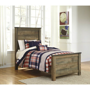 Peoria Panel Bed - Twin