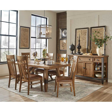 Mesa 5-Piece Dining Set - Includes 4 Chairs Only