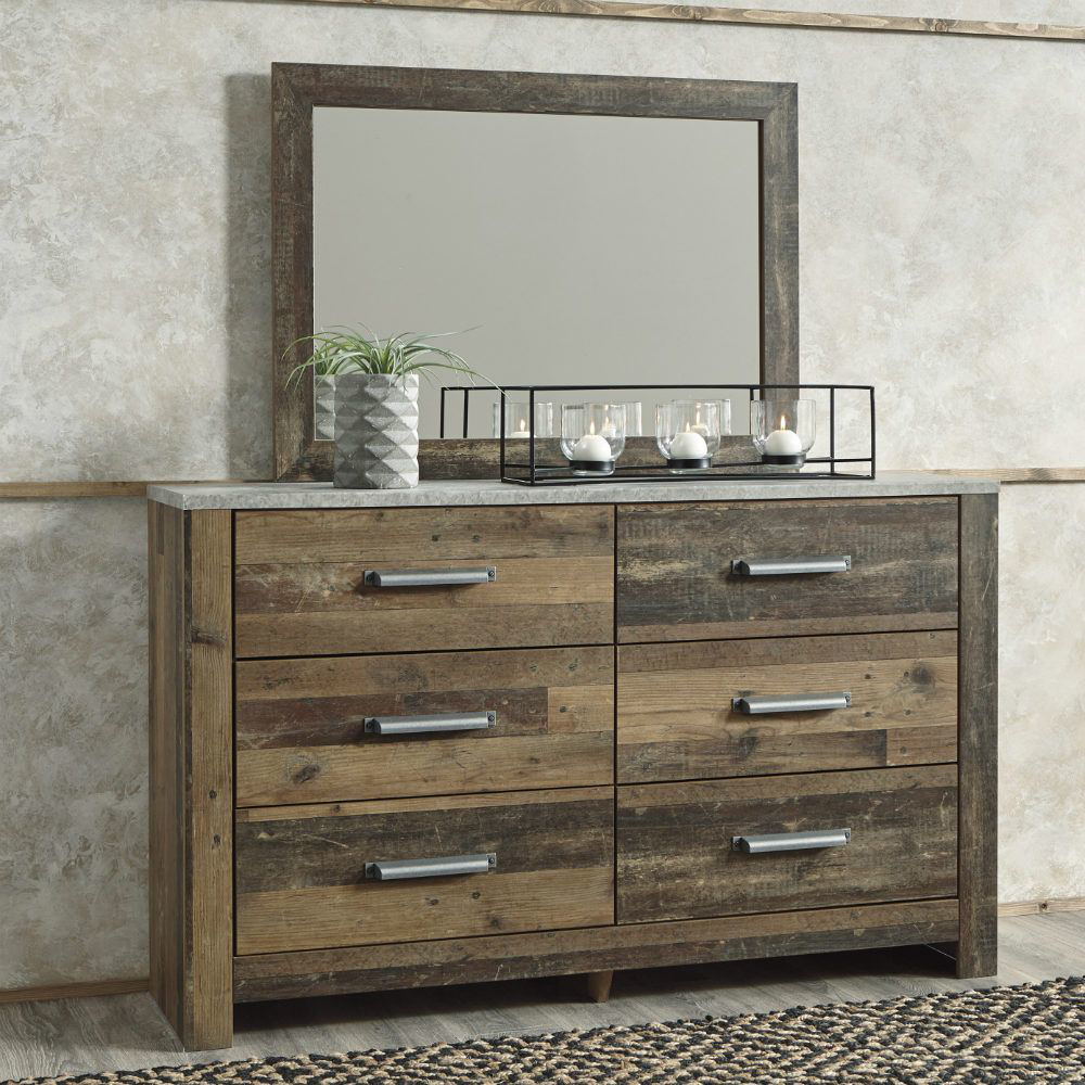 Raton Dresser and Mirror - Lifestyle