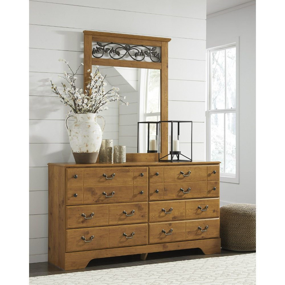 Carmel Dresser and Mirror - Lifestyle