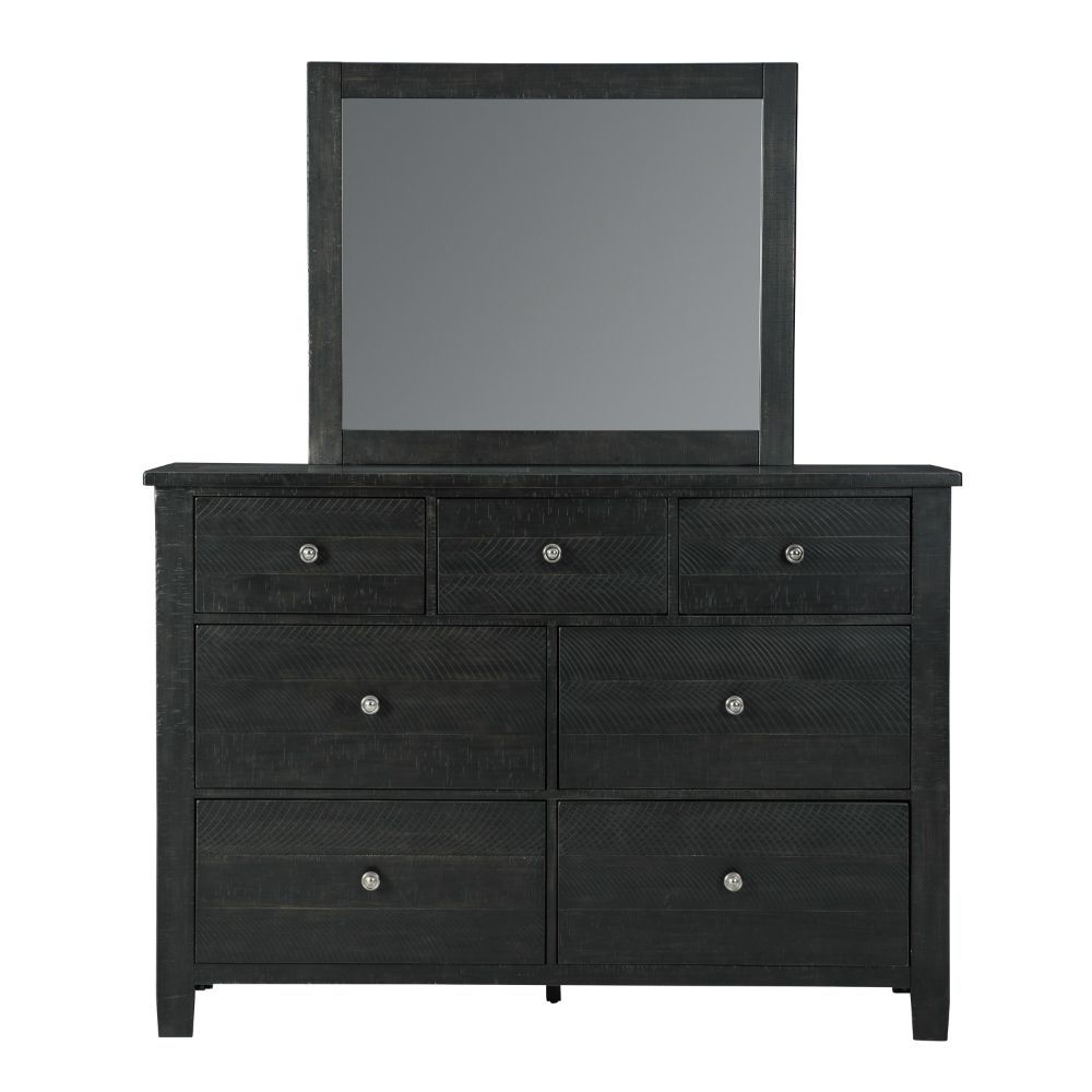 Clovis Dresser and Mirror - Front