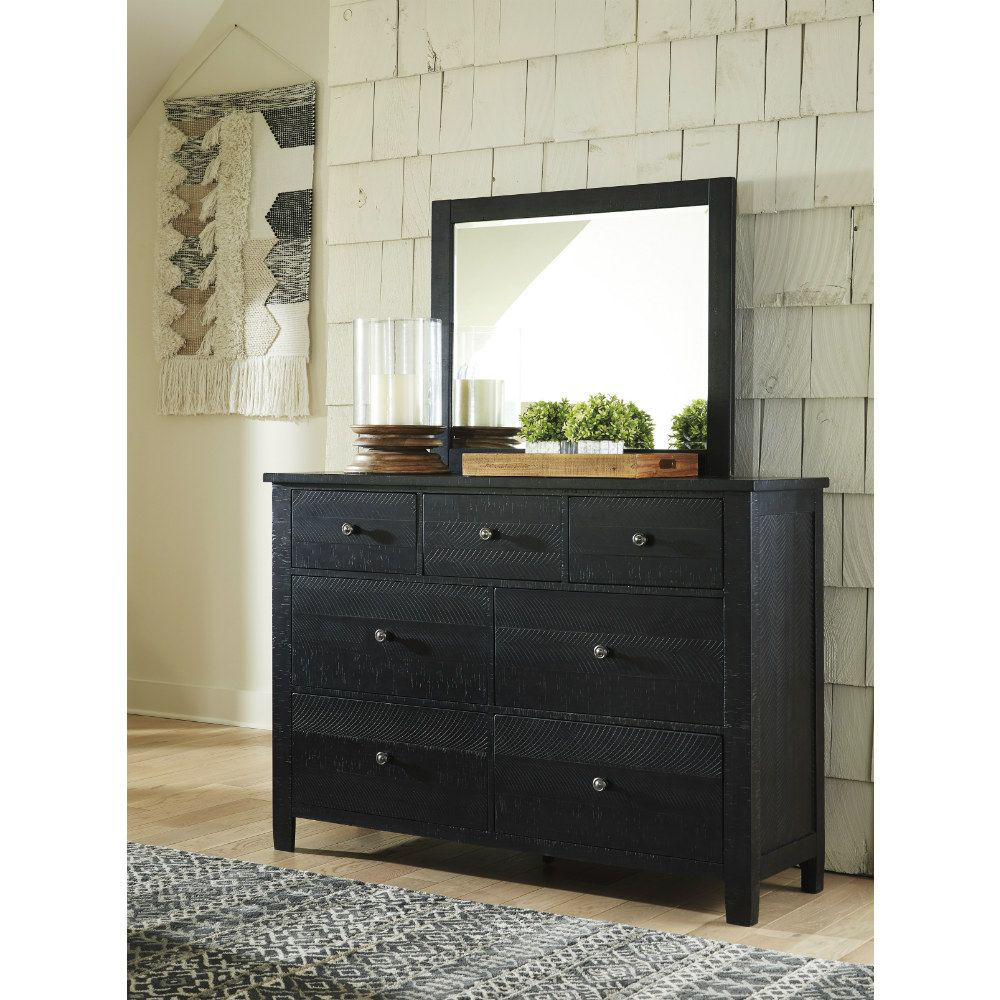 Clovis Dresser and Mirror - Lifestyle