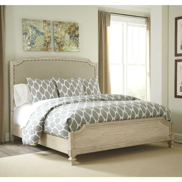Ogden Upholstered Panel Bed