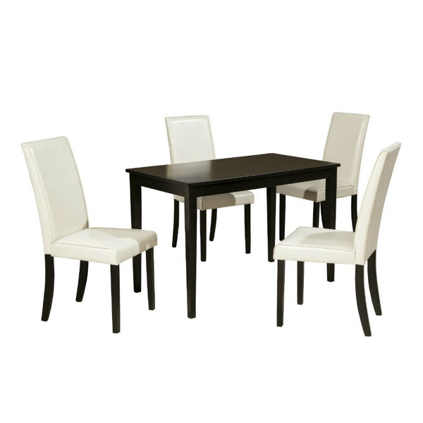 Aspen 5-Piece Dining Set - Ivory