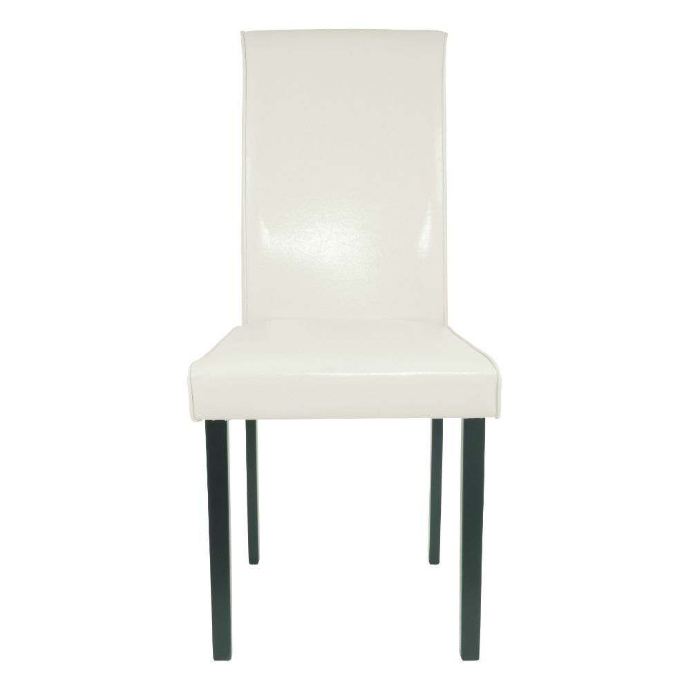 Aspen Side Chair - Ivory - Front