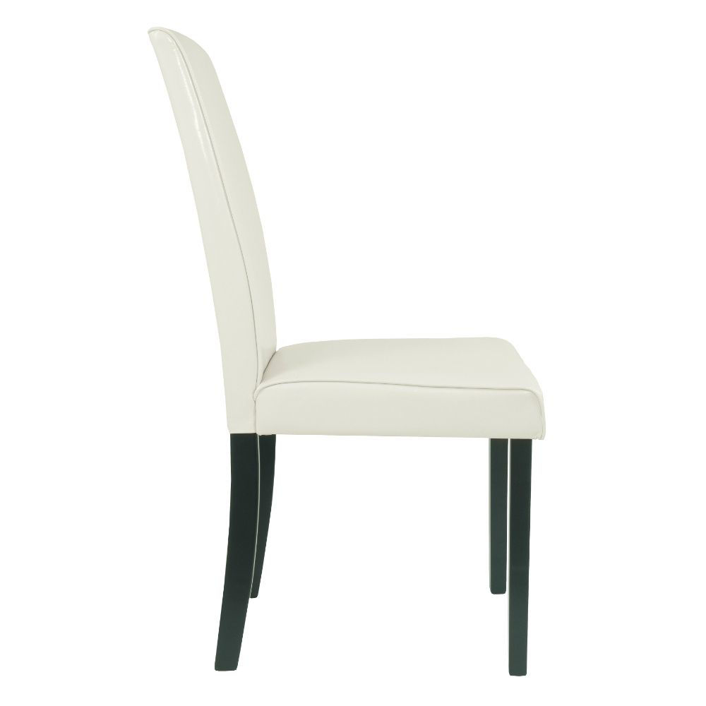 Aspen Side Chair - Ivory - Side
