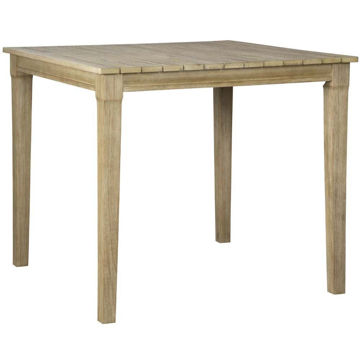 "Tulum 42"" Square Bar Table"