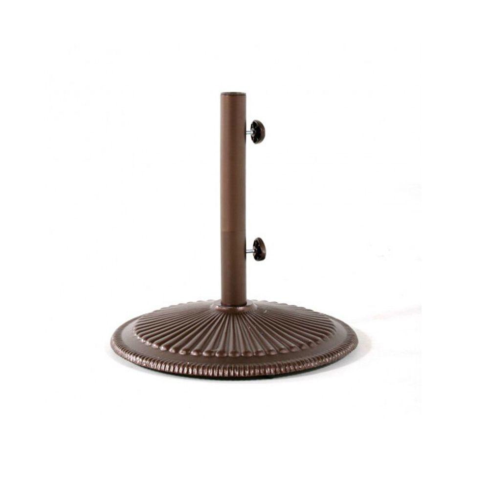 Umbrella Base for 9' Octagon Umbrellas - Bronze
