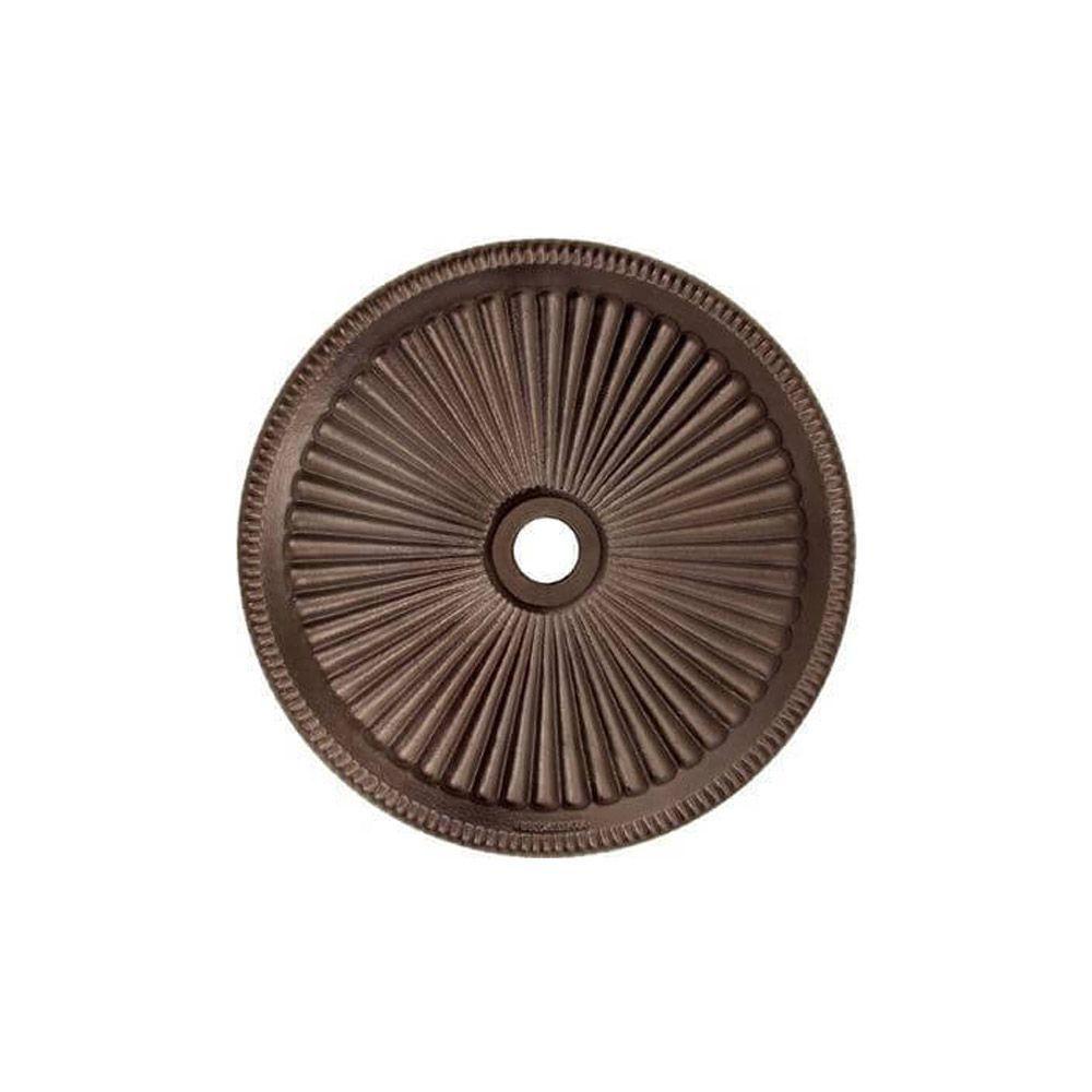 Umbrella Base for 9' Octagon Umbrellas - Bronze Alt