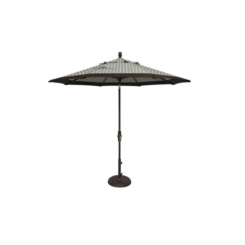 Umbrella Base for 9' Octagon Umbrellas - Bronze - Umbrella not included