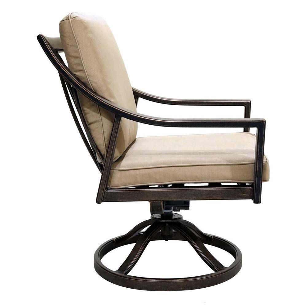 Aspen Swivel Chair Side