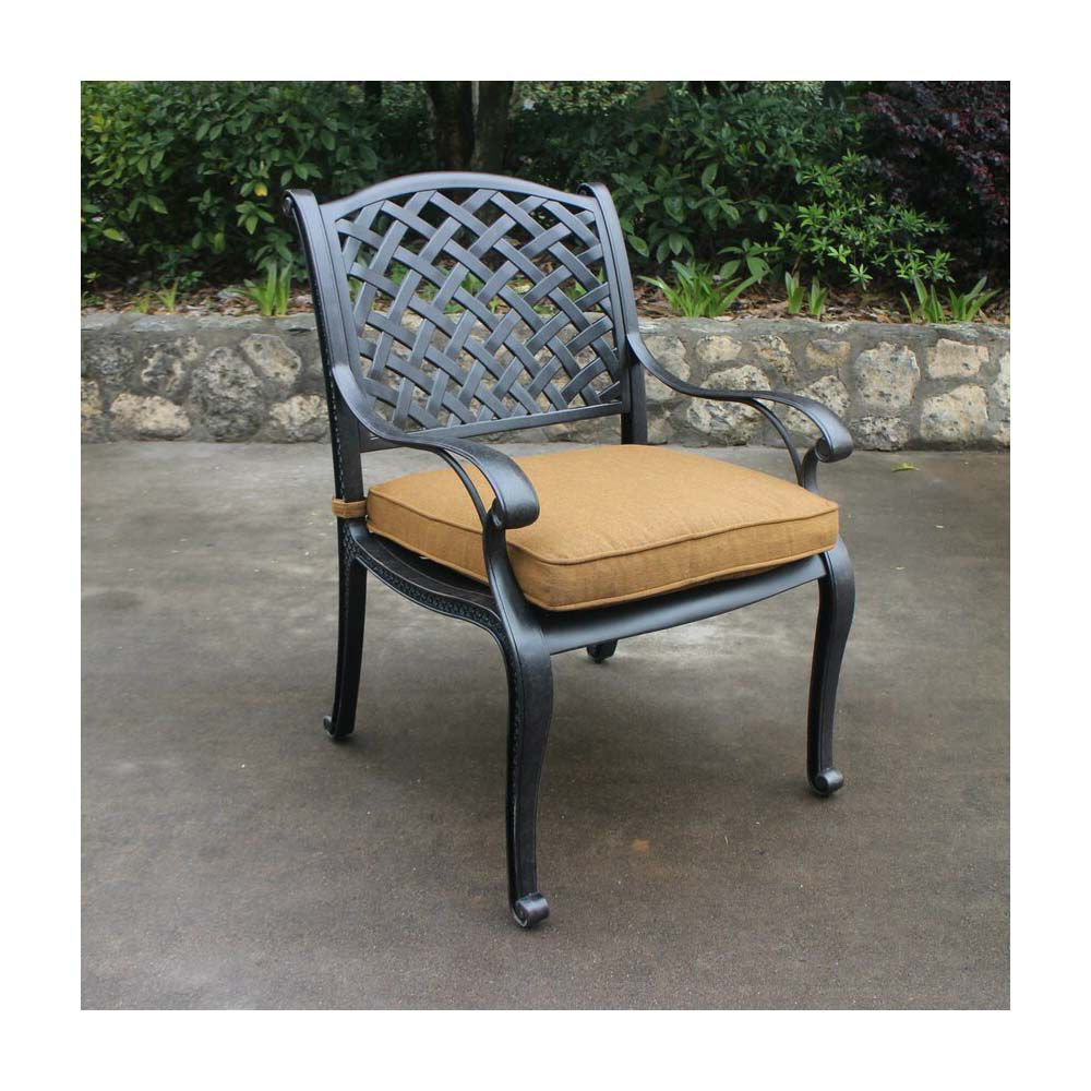 Taos Dining Arm Chair with Cushion