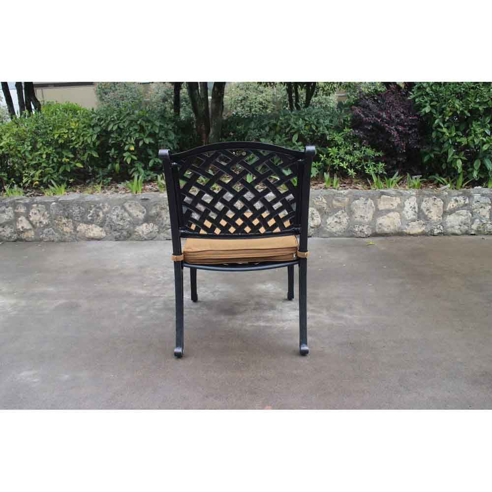 Taos Dining Arm Chair with Cushion Back