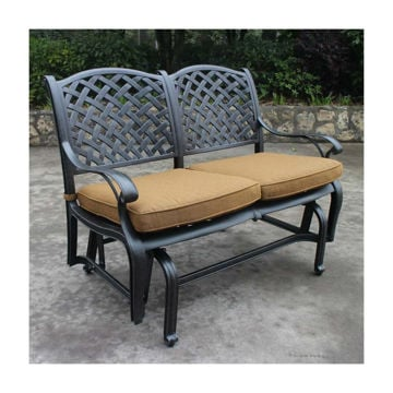 Taos Bench Glider With Cushions