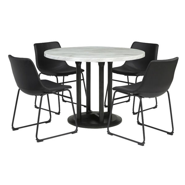 Carrara 5 Piece Dining Set