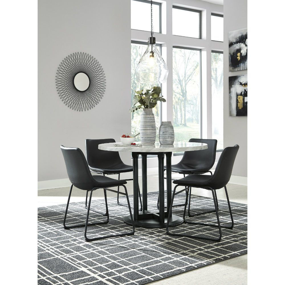 Carrara 5 Piece Dining Set - Lifestyle