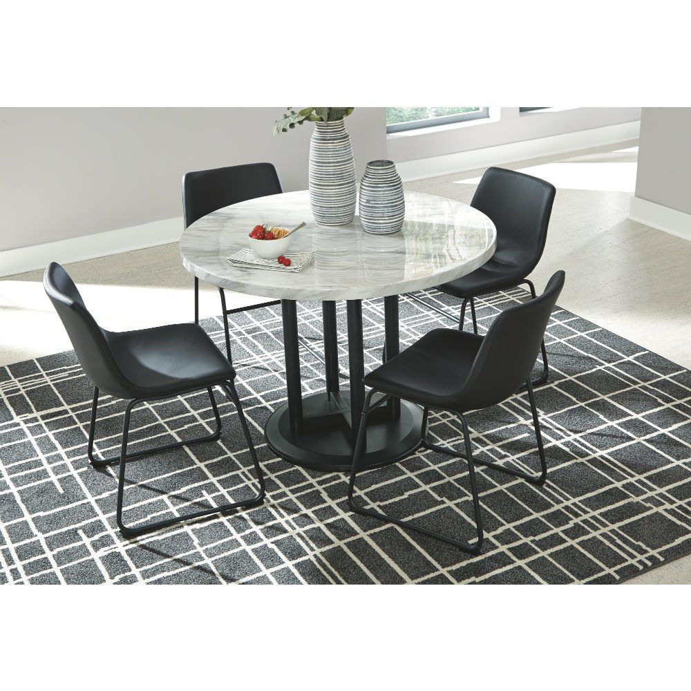 Carrara 5 Piece Dining Set - Mood
