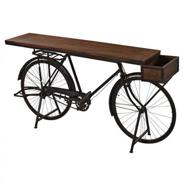 Picture of Pedal Bike Bar Console Table