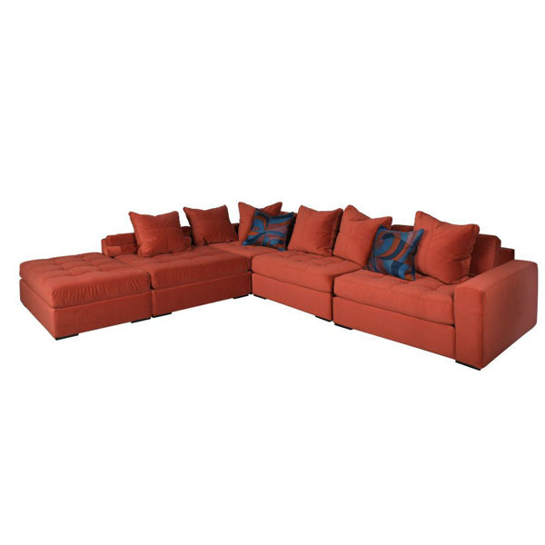 Picture of xxNoah 5-Piece Sectional - Cayenne