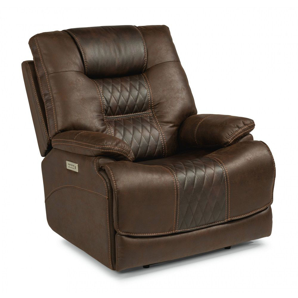 Tazar Power Recliner - closed