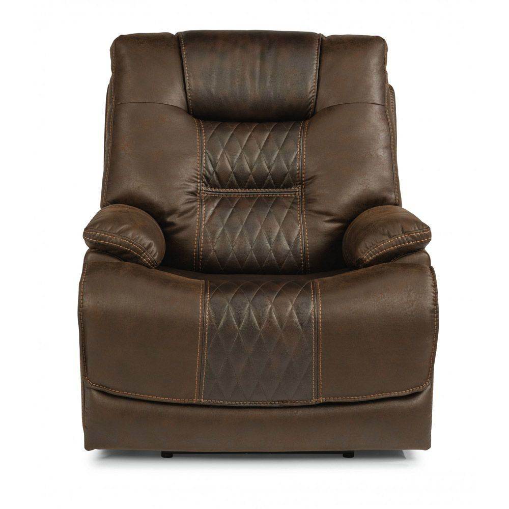 Tazar Power Recliner - Head On