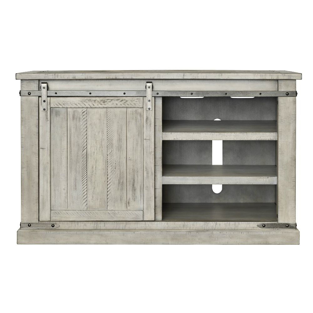"""Mariposa 50"""" Console - White - Front"""