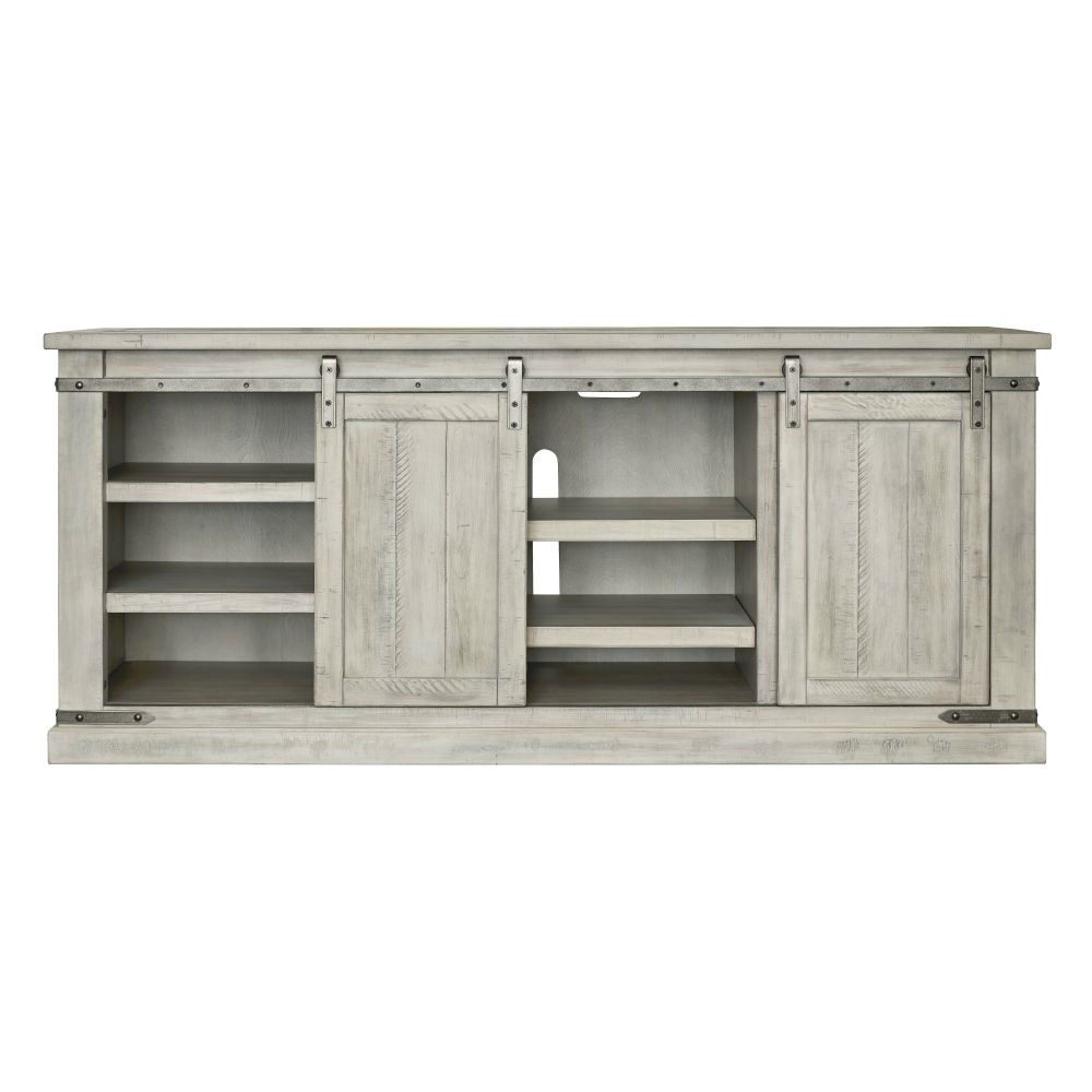 """Mariposa 70"""" Console - White - Front"""
