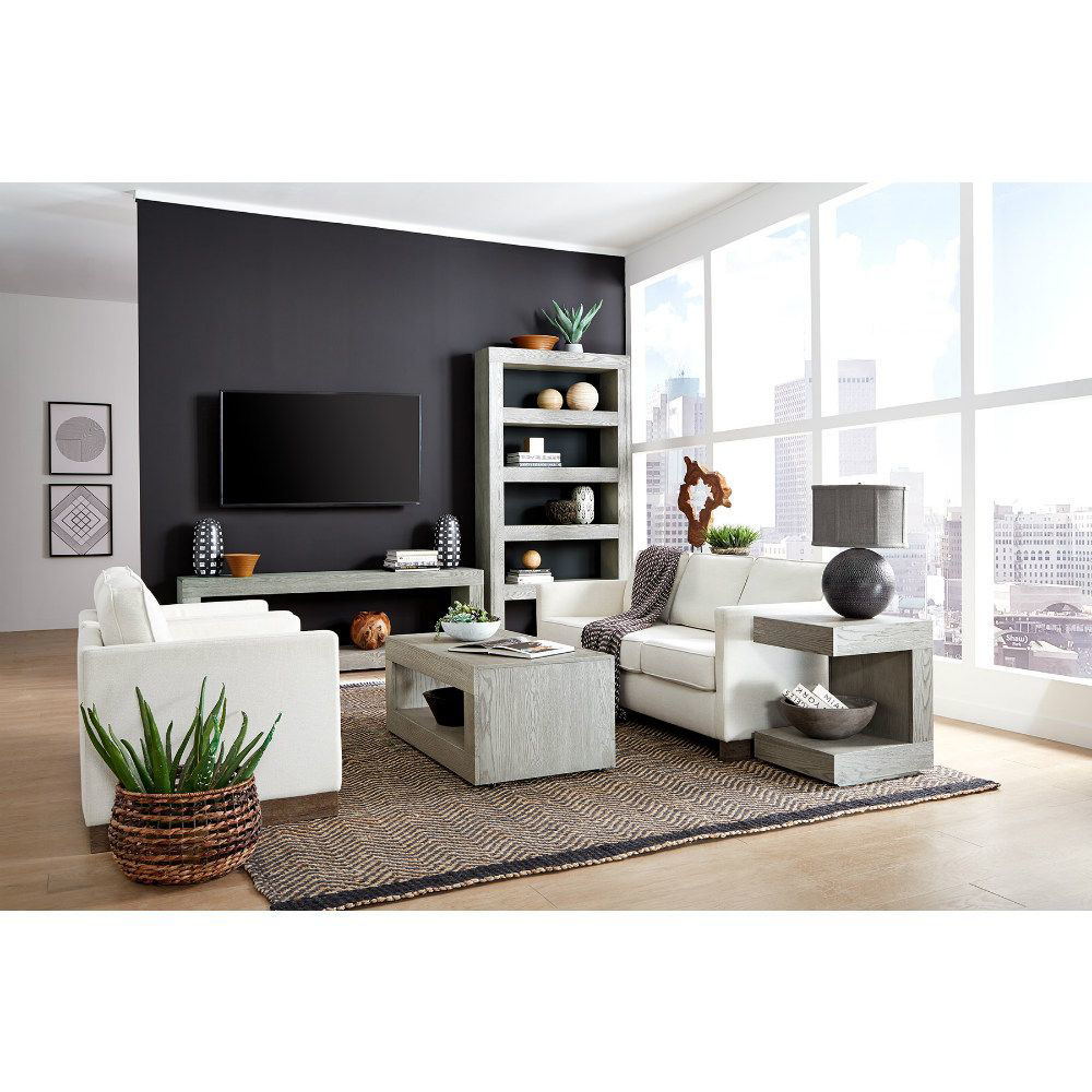 """Marcel 60"""" Open Console - Gray - Lifestyle"""