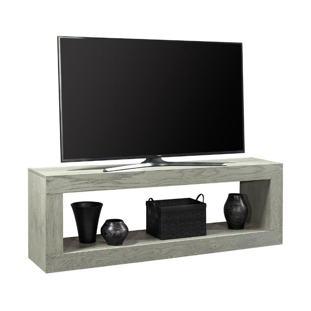 "Marcel 74"" Open Console - Gray - TV"