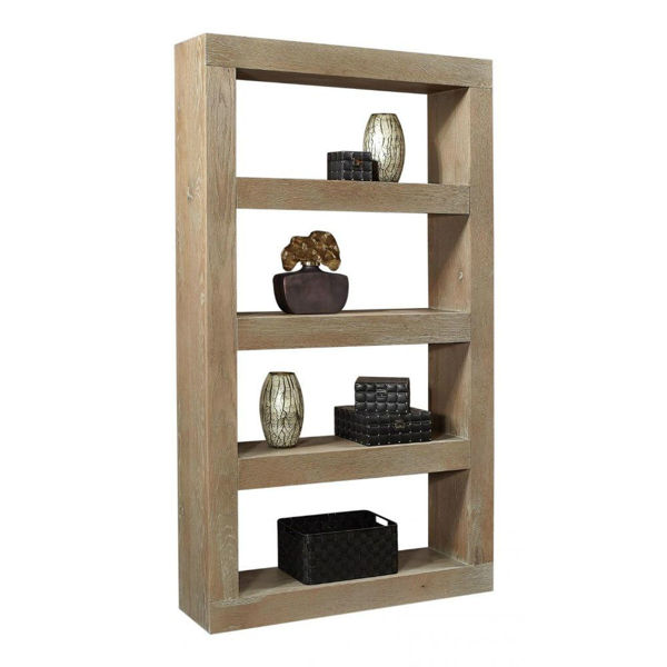 "Marcel 83"" Open Display Case - Taupe"