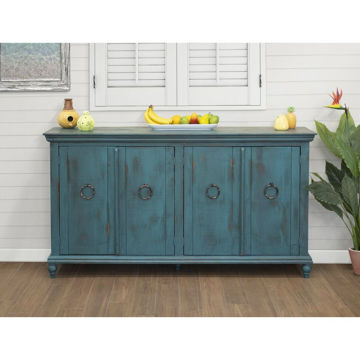 Versailles 4-Door Console - Green