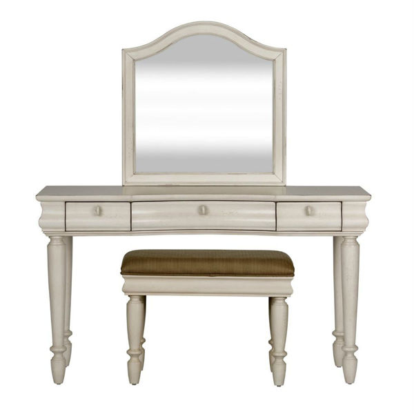 Rustic Traditions 3 Piece Vanity Set - White