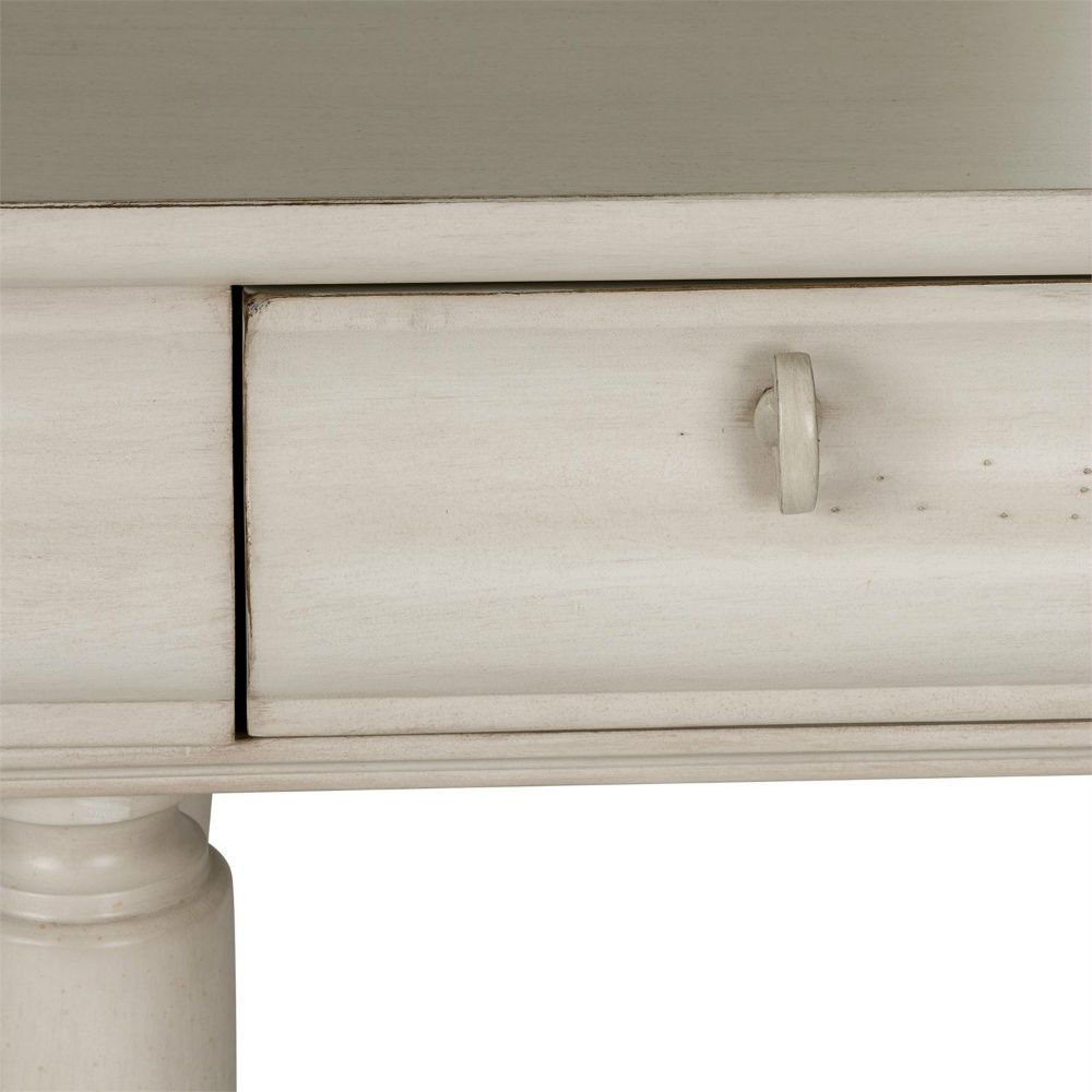 Rustic Traditions Vanity Desk - White - Drawer