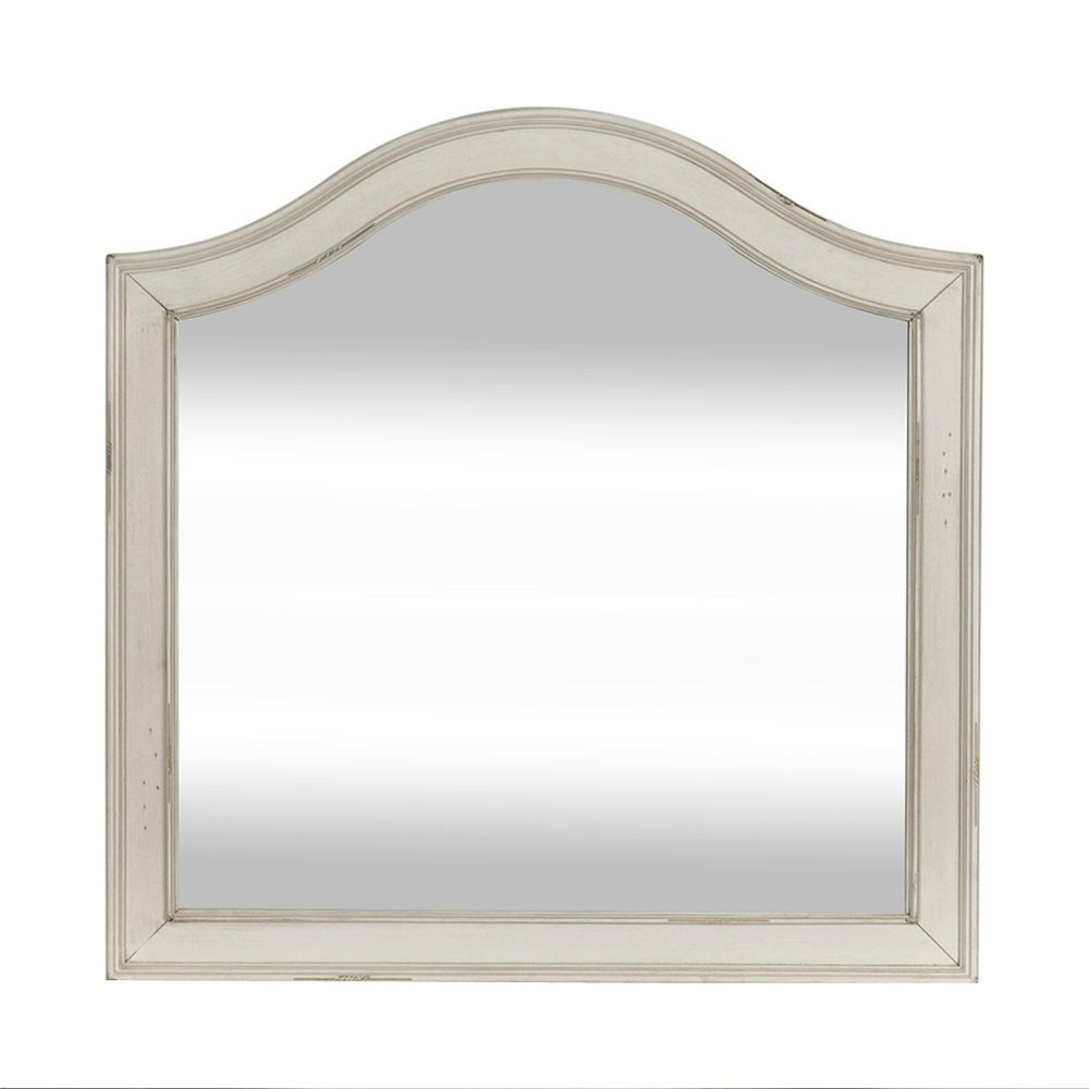 Rustic Traditions Vanity Mirror - White