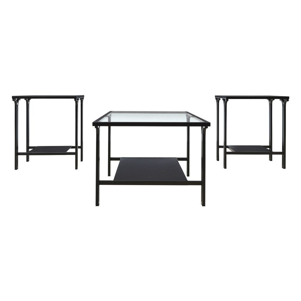 Joshua Cocktail Table & 2 End Tables - Front