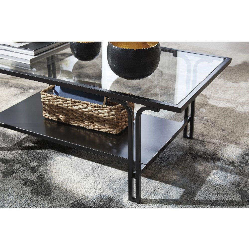 Joshua Cocktail Table & 2 End Tables - Mood