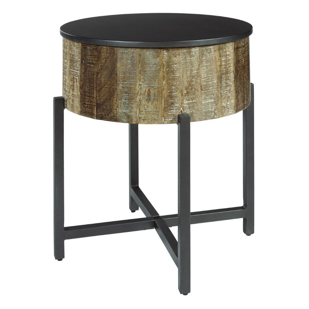 Lazer Round End Table
