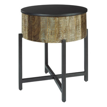 Lazer Round End Table