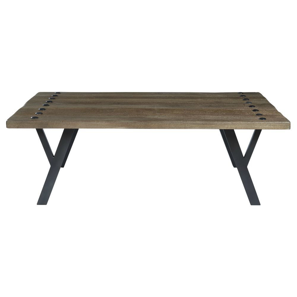 Urban Plank Cocktail Table - Front