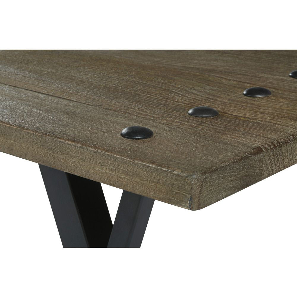 Urban Plank Cocktail Table - Corner Detail